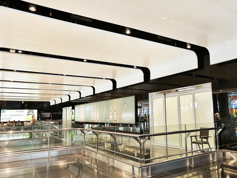 dur-SOLO® Type 4 open metal raft ceiling system   durlum GmbH